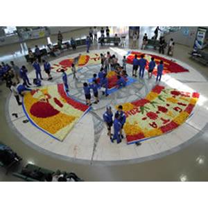 「新潟空港を花絵で飾ろう2018」の予定について
