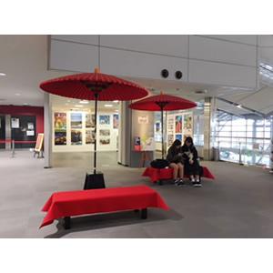 新潟空港〈野点スペース〉で一休みしませんか?